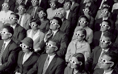 3-D Audience - photo