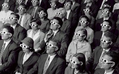 3-D Audience - photo