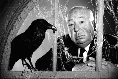 Alfred Hitchcock - photo bird
