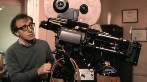 Woody Allen - photo camera