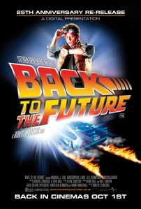 Back to the Future 25th Anniversary poster