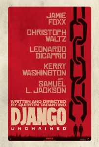Django Unchained - poster red