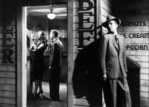Dana Andrews in Fallen Angel