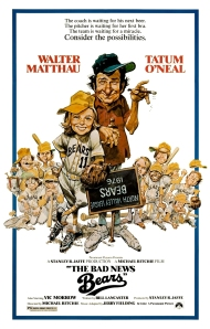 the bad news bears - poster final white