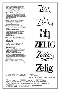 Zelig - poster final