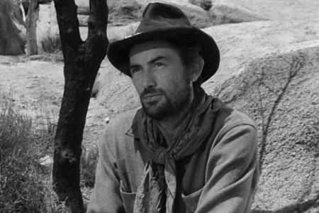 Gregory Peck in Yellow Sky