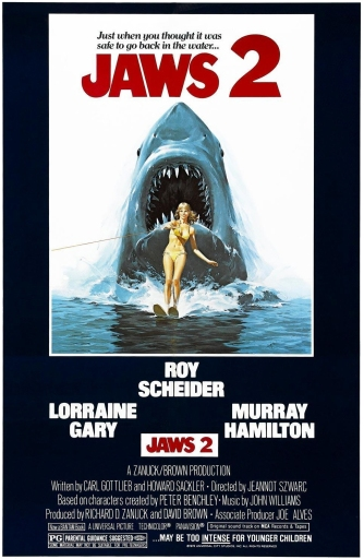 Jaws 2 - poster fix crop