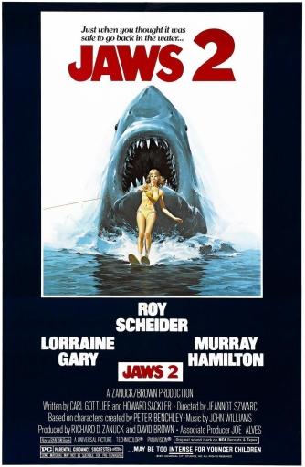 Jaws 2 - poster fix crop