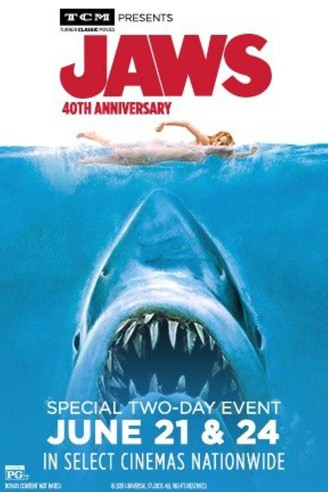 Jaws - poster 40th