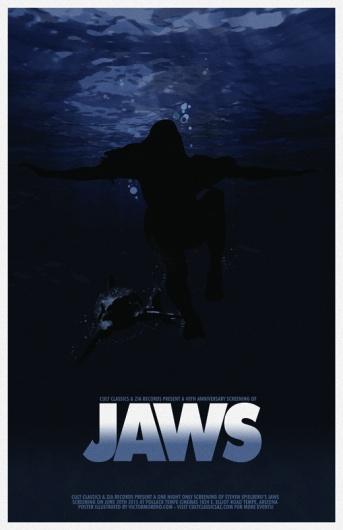 Jaws - poster Cult Classics
