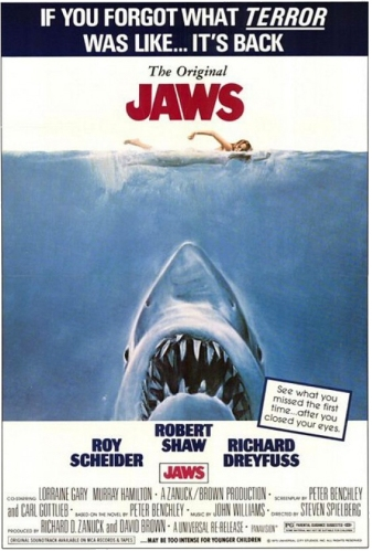 Jaws - poster re-release fix crop
