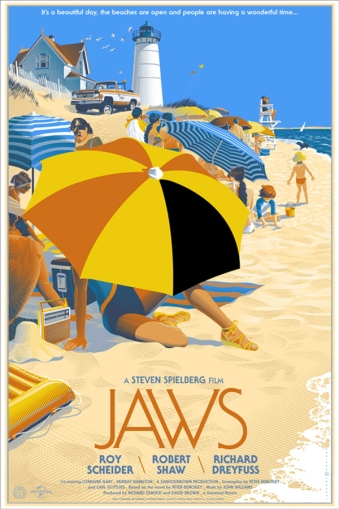 Jaws - travel poster