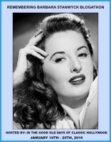 Remembering Barbara Stanwyck Blogathon - banner