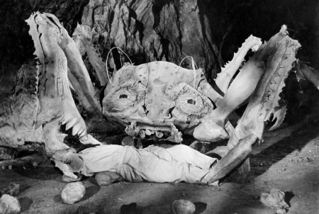Attack of the Crab Monsters - photo bw fix crop