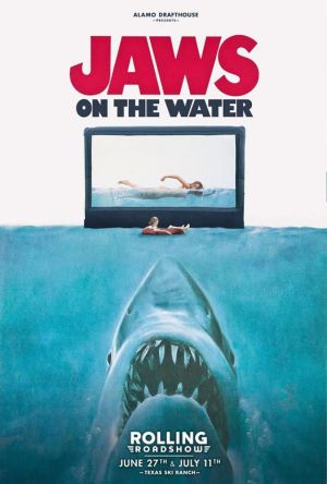 Jaws - poster Alamo on the Water 2015