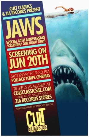 Jaws - poster Cult Classics 2015