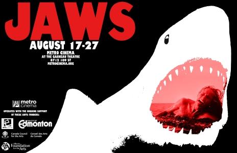 Jaws - poster Edmonton 2013
