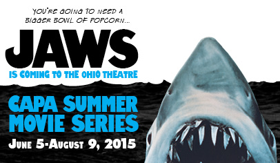 Jaws - poster Ohio Theater 2015