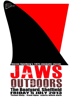 Jaws - poster Sheffield 2013 crop